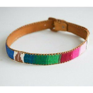 Handmade Leather Embroidered Handmade Belt